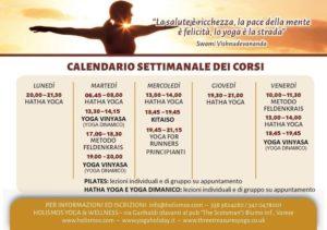 hatha yoga, yoga dinamico, vinyasa yoga, kitaiso, pilates, metodo feldenkrais